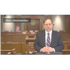 Ethics Issues That Arise in Taking Depositions (audio)