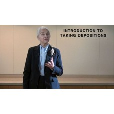 An Introduction to Taking Depositions